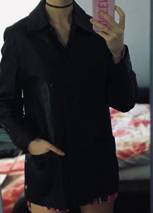 Nevi кожаное пальто