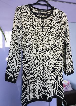 Платье-туника 25% шерсть (wool)