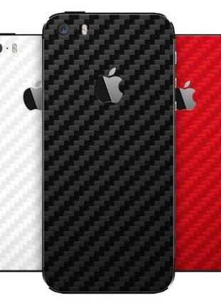 Плівка Карбон Метал Шкіра iPhone 11 Pro XS Max X 8 7 Plus плен...
