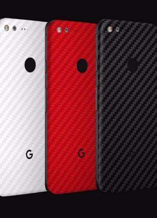 Плівка Карбон Метал Шкіра Google Pixel Pixel 2 3 XL пленка кар...