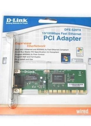 Сетевая карта D-Link DFE-520TX, новая