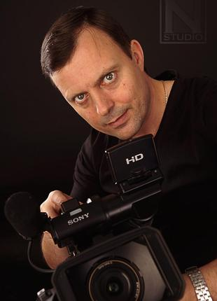 Видеооператор. Многокамерная видеосъёмка FullHD и 4K в Харькове.