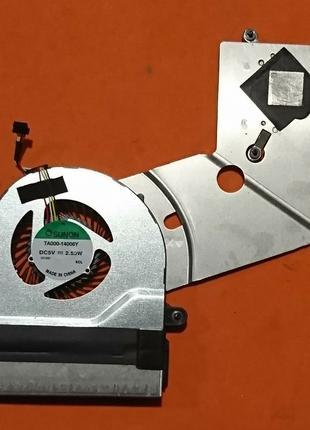 Кулер с радиатором Acer Aspire ES1-711 ES1-731 (SOL4ZZYLFATN00...