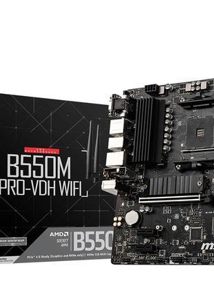 MSI B550M PRO-VDH Wi-Fi Socket AM4