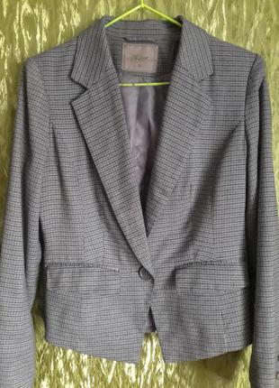 Стильный женский костюм пиджак жакет и юбка