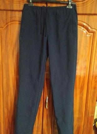 Теплые мужские флисовые штаны на зиму blue harbor