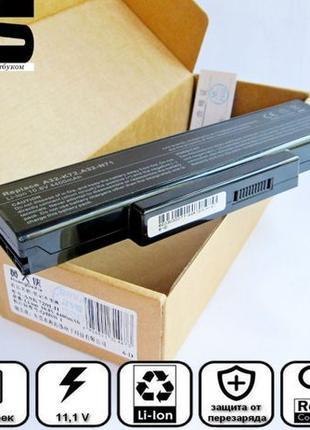 Батарея аккумулятор Asus A32-K72 A32-N71 J B A E S SV K73E K72...