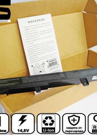 Батарея аккумулятор Asus A41N1308 A31N1319 4 X551 X451CA X551C...
