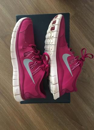 Настоящие кроссовки для бега nike free run