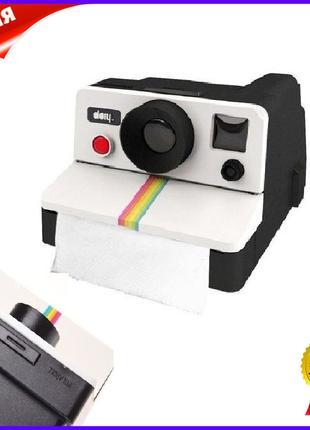 Держатель для туалетной бумаги Polaroll пластиковое крепление ...