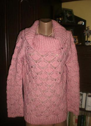 Шикарний вязаний кашеміровий світер (пуловер, кофта) per una  ...