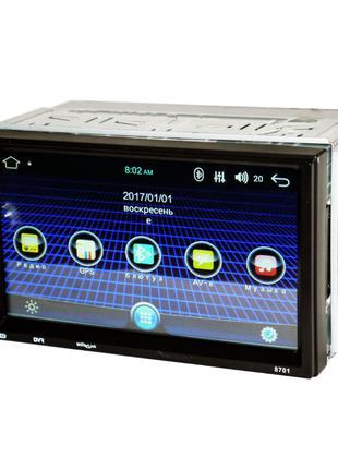 2 din Автомагнитола пионер Pioneer 8701 Android GPS WiFi 4Ядра...