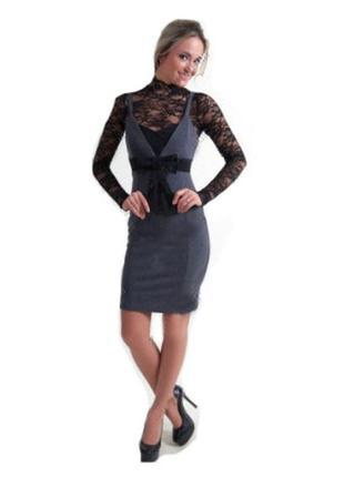 Красивое и нарядное платье zean.