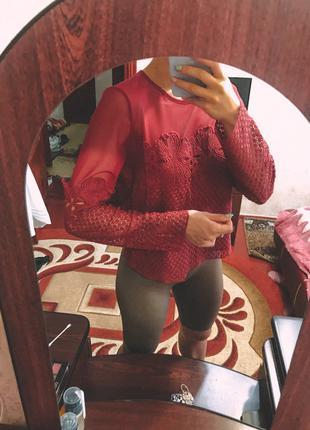 Легкая блуза и летний комбинезон. две вещи за одну цену