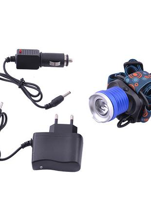 Налобный фонарик Police BL-6807B (Cree T6)