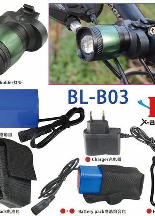 Велофонарь Bailong BL-B03A-T6