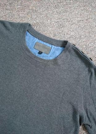 Шикарный серый мужской свитер minimum