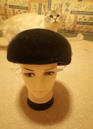Мужская зимняя шапка из нерпы 61 размер