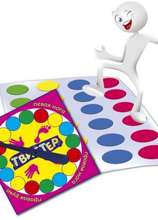 """Напольная игра """"Твистер"""" MKT0101 для всей семьи"""