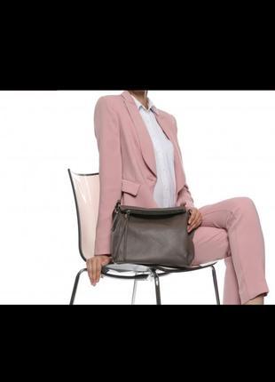Кожаная сумка gianni chiarini натуральная кожа