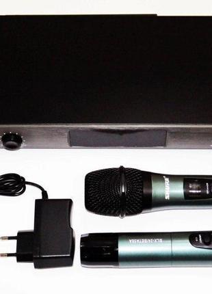 Радиосистема Shure BLX4/BETA58A UHF база 2 радиомикрофона