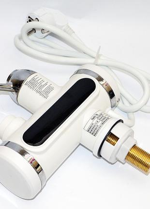 Проточный водонагреватель с LCD экраном Instant Electric Heating