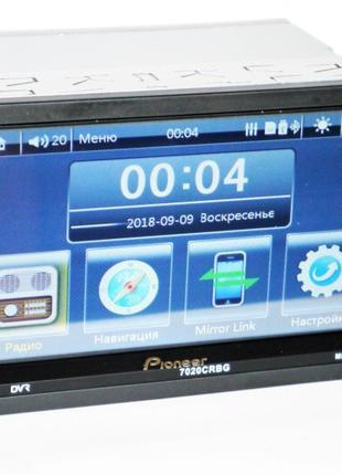 2din  Pioneer 7020 CRBG GPS навигация 8Gb карта памяти