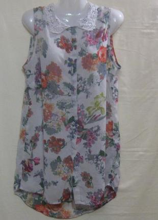 Блузка женская, летняя, цветная, 48 р-р. дешево