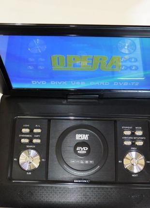"""21"""" DVD Opera 1680 Портативный DVD-проигрыватель с Т2 TV"""