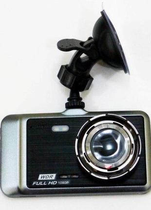 "DVR GT500 Full HD 4"" сенсорный экран, с камерой заднего вида"