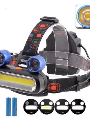 Налобный фонарь Police BL-XQ-168