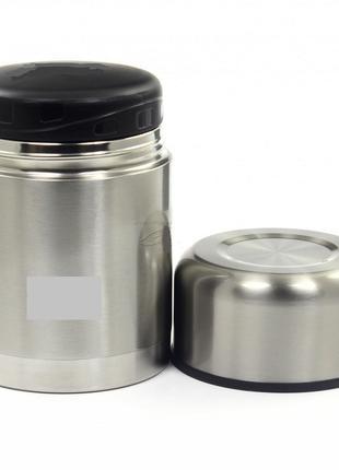 Термос небольшой вакуумный для еды VINCENT объемом 0,75 л.