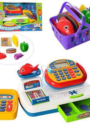 """Детский игровой набор Joy Toy """"Мой магазин"""" с кассовым аппарат..."""