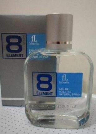 Туалетная вода для мужчин 8 element. акция.