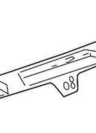 Молдинг багажника с дополнительным стопом, верхний GM 10362013...