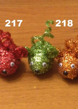 """Новогодняя игрушка """"Мышка"""""""
