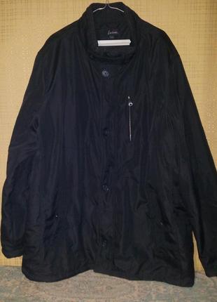 Черная куртка cosual от luciano for men xxxl