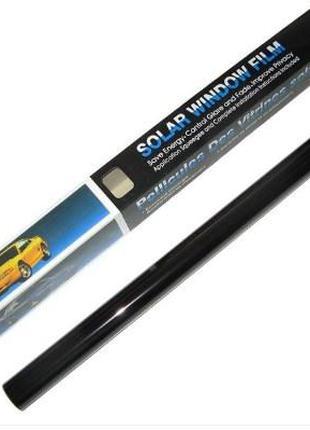 Пленка тонировочная SOLAR оригинал! 50*300 см 5% Super Dark Bl...