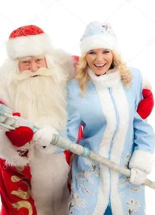 Привітання Діда Мороза та Снігурочки