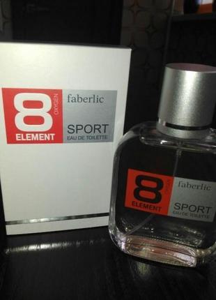Туалетная вода для мужчин 8 element sport. акция.