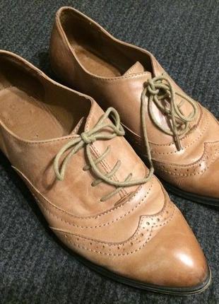 Aldo кожаные туфли оксфорды  броги