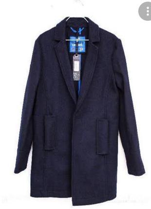 Мужское шерстяное пальто superdry