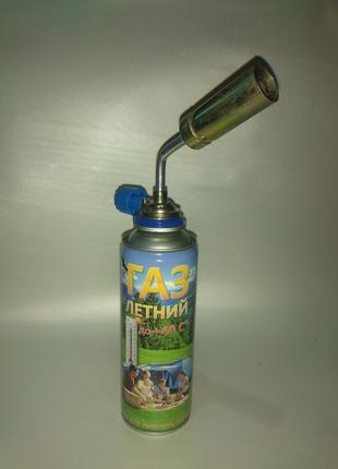 Газовая горелка с баллоном газа