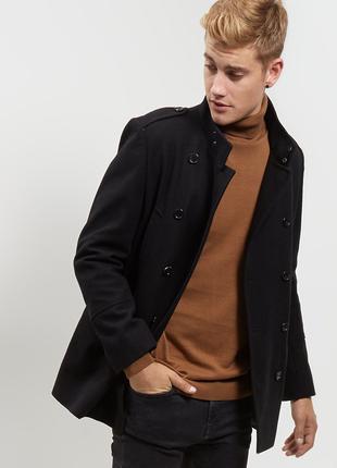 New Look Англия р.XXL мужской бушлат пальто полупальто куртка