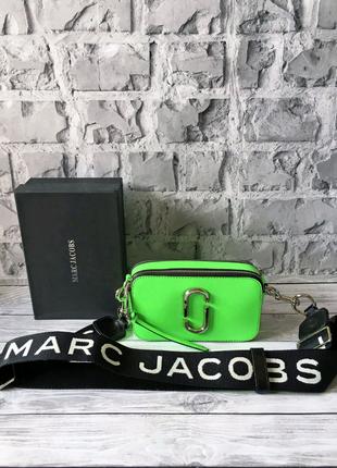 Сумка женская Марк Якобс Marc Jacobs Snapshot неоновая
