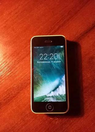 IPhone 5c 16 gb yellow