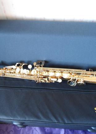 Саксофон -сопрано( Selmer- Supe) .