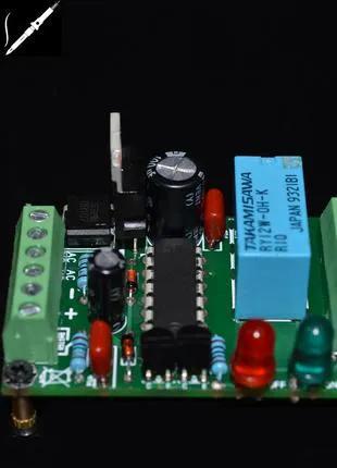 Маломощный выключатель 12В тактовой кнопкой