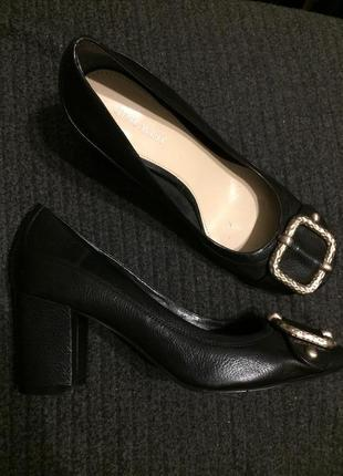 Nine west кожаные туфли