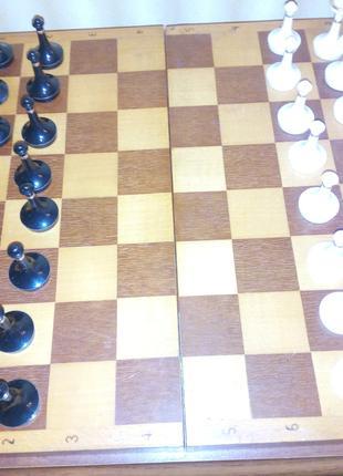 Шахматы советские с доской 40х40см